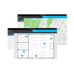 位置情報 IoT機器 位置情報管理アプリケーション