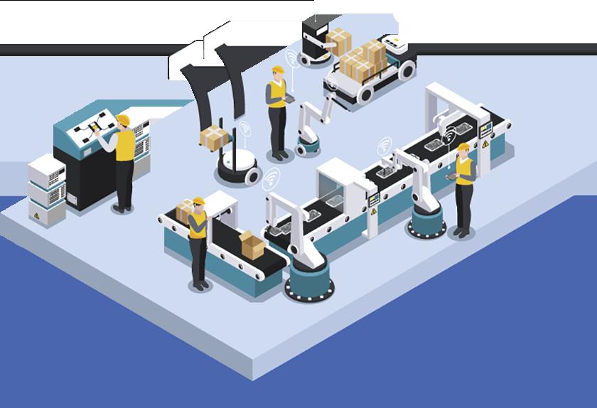 屋内 工場 製造業 位置情報 業務効率化 管理