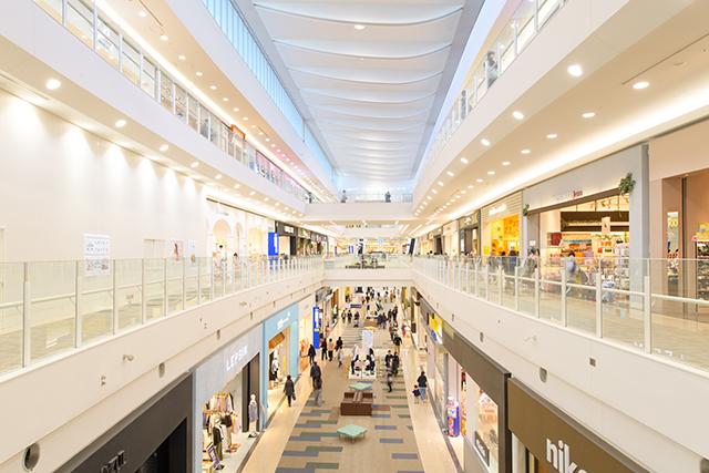 ショッピングモール 迷子防止 位置情報 イメージ画像