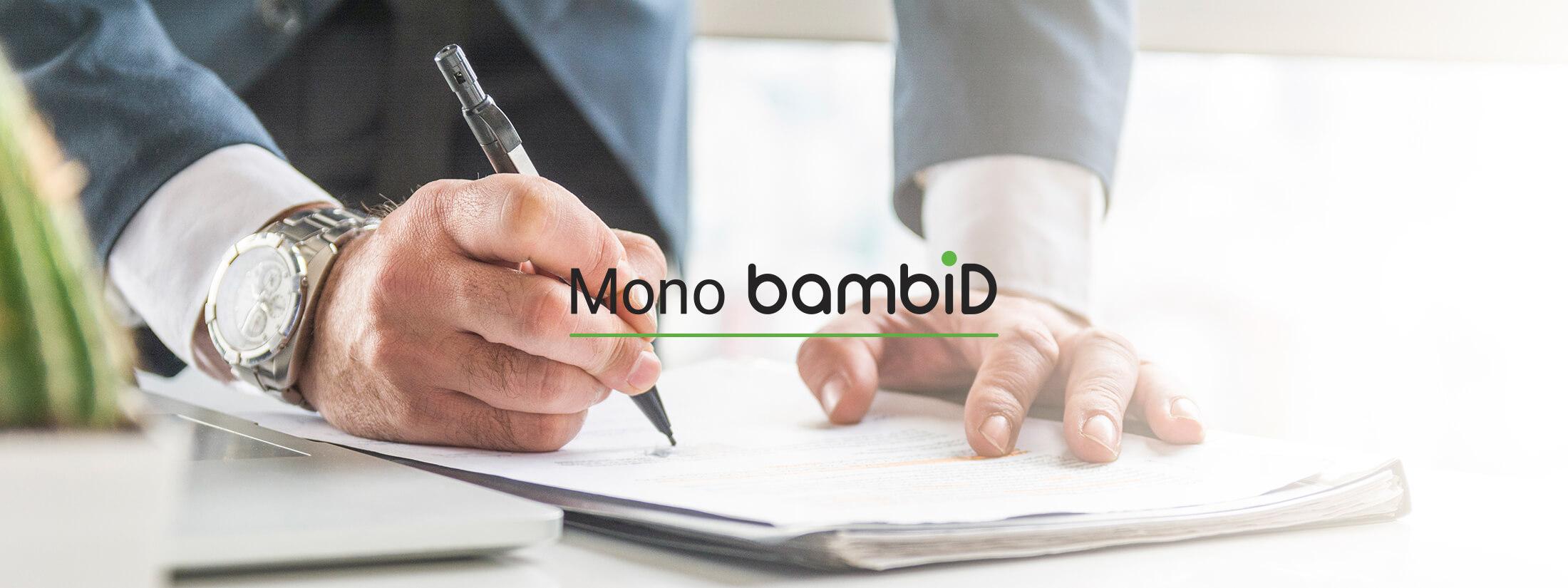 位置情報 物品 管理 IoTソリューション Mono bambiD