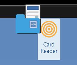 bambiD Link 書類 RFID タッチ