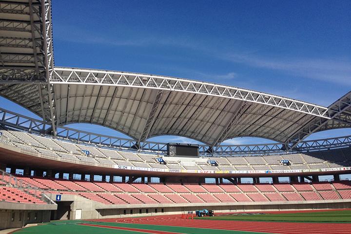 スタジアム イベント 屋外 位置情報のイメージ画像